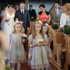 Fotografie z ceremonii ślubnej