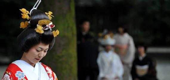Zdjęcia ślubne z Japonii