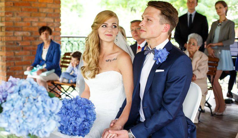 Ula i Krzysztof – ceremonia ślubna w Dolsku koło Poznania