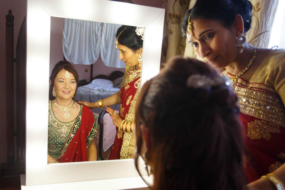 przgotowania do indyjskiego wesela w Wąsowie